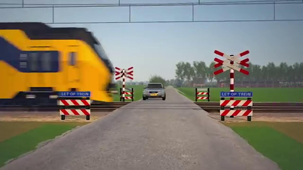 Onderzoeksraad voor Veiligheid over spoorwegovergangen