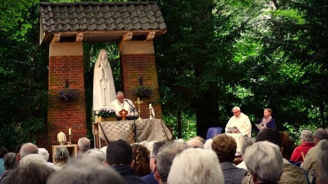 Hoogfeest Maria Hemelvaart opnieuw in Fatimapark