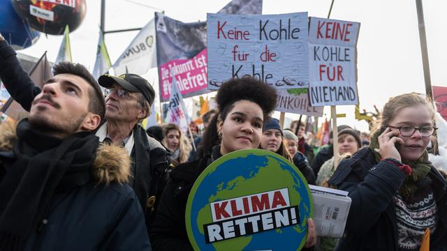 Duizenden Duitsers demonstreren tegen gebruik van kolen als energiebron