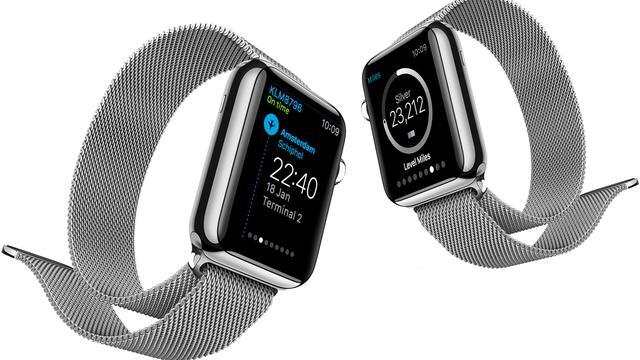 KLM brengt app voor Apple Watch uit
