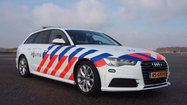 Deel snelle politieauto's ongebruikt door gebrek aan geschikte bestuurders
