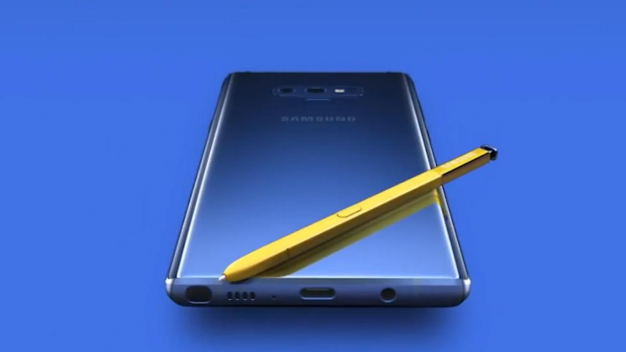 Samsung deelt per ongeluk video Galaxy Note 9