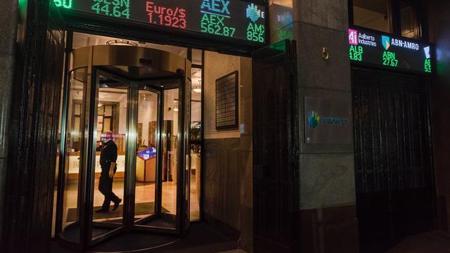 AEX eindigt handelsdag met duidelijke winst