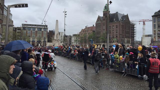 Geen grootschalige sinterklaasintocht in Amsterdam dit jaar vanwege corona