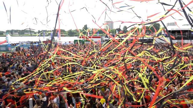 Zo viert Antwerpen eerste doelpunt België op WK Rusland