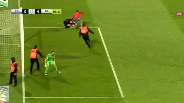 Trabzonspor vier duels zonder publiek na ongeregeldheden