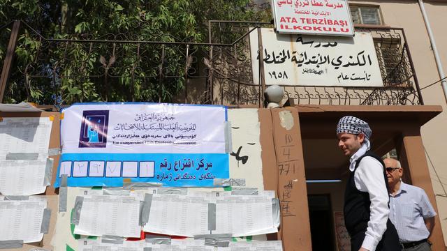 Drie mensen omgekomen door aanslag na sluiting stembureau Iraakse Kirkuk