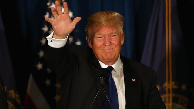 Trump en Sanders winnen voorverkiezingen in New Hampshire