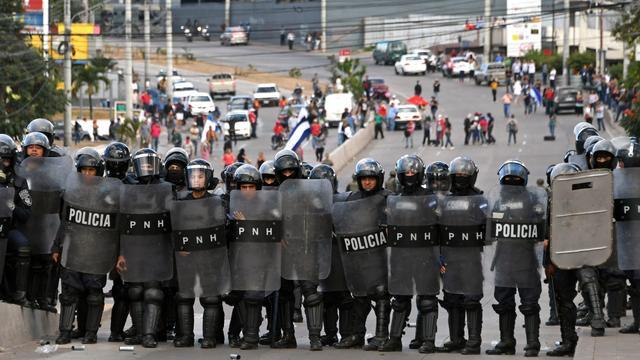 Opnieuw protesten tijdens beëdiging Hernández als president Honduras