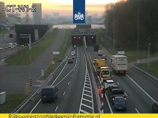 File staat richting Zuid