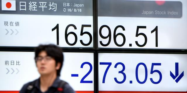 Rode cijfers op Aziatische beurzen