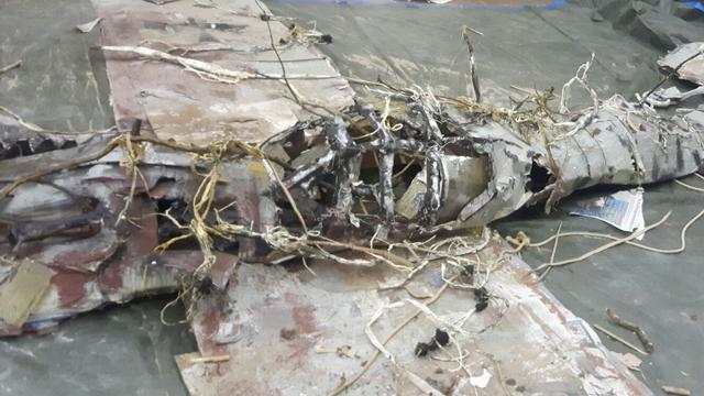 Leids spektakelstuk over neergestort jachtvliegtuig