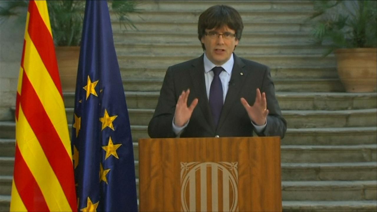 Ontslagen president Catalonië: 'We zullen niet afwijken van koers'