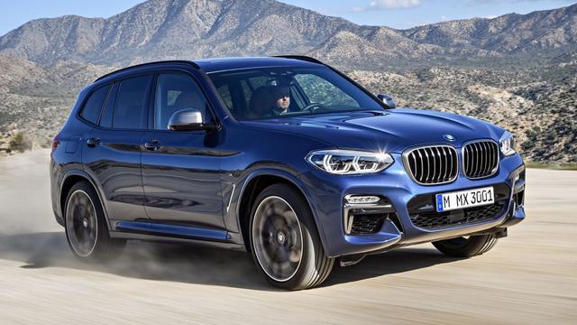 BMW onthult compleet nieuwe X3