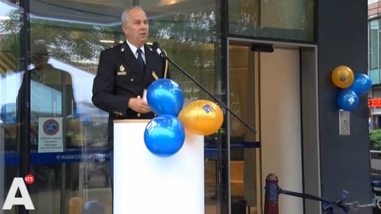 Politiebureau Burgwallen officieel geopend