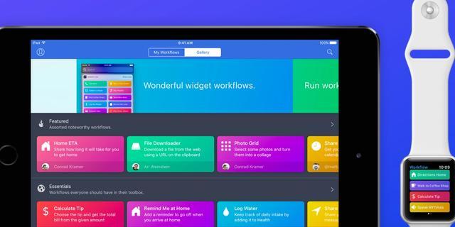 Apple koopt slimme taken-app Workflow