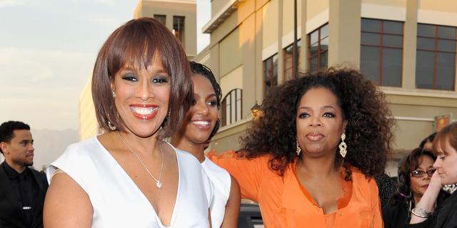 Gayle King kreeg kindermeisje cadeau van beste vriendin Oprah Winfrey