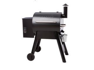 Bekijk de Traeger pro 22 pellet barbecue