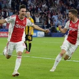 Reacties op ruime zege Ajax op AEK Athene in Champions League