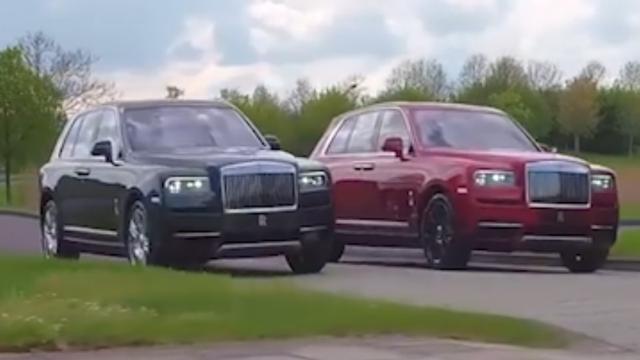 Eerste bewegende beelden van de nieuwe Rolls-Royce Cullinan