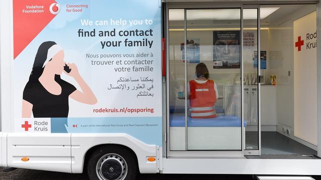 Rode Kruis gaat met 'belbus' langs opvangcentra