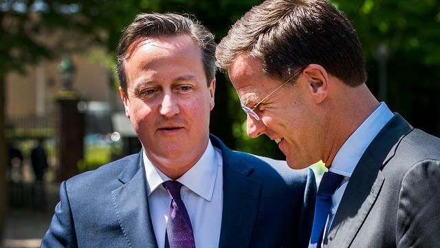 Cameron ziet Nederland als 'zeer sterke partner in EU'