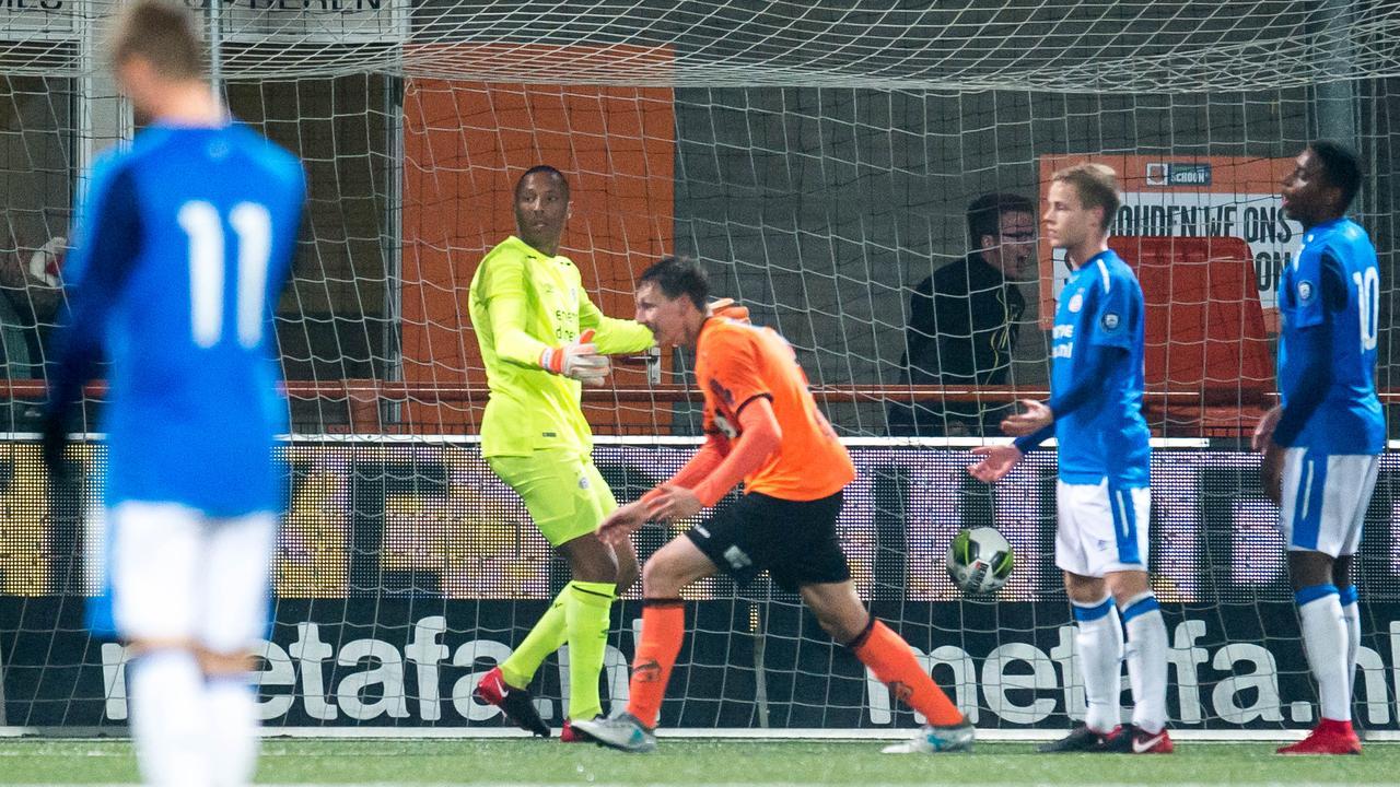 Samenvatting FC Volendam-Jong PSV (1-0)