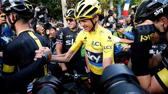 Meeste prijzengeld in Tour voor Team Sky