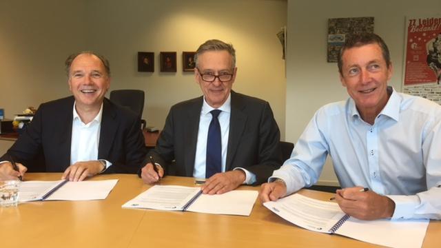 Zorg en Zekerheid opnieuw drie jaar hoofdsponsor ZZ Leiden Basketball