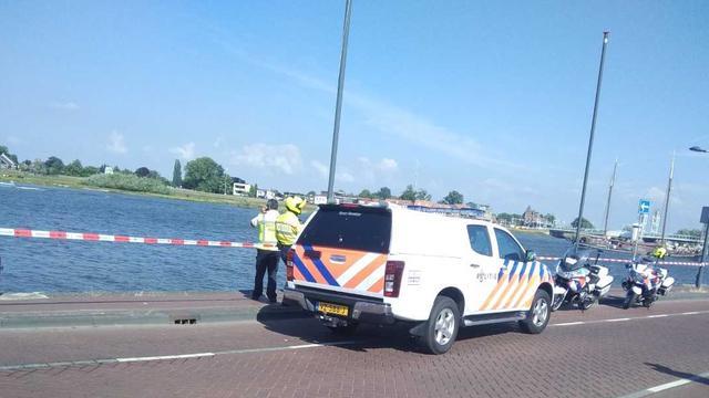 Lichaam gevonden bij zoektocht naar mogelijke drenkeling in IJssel bij Kampen