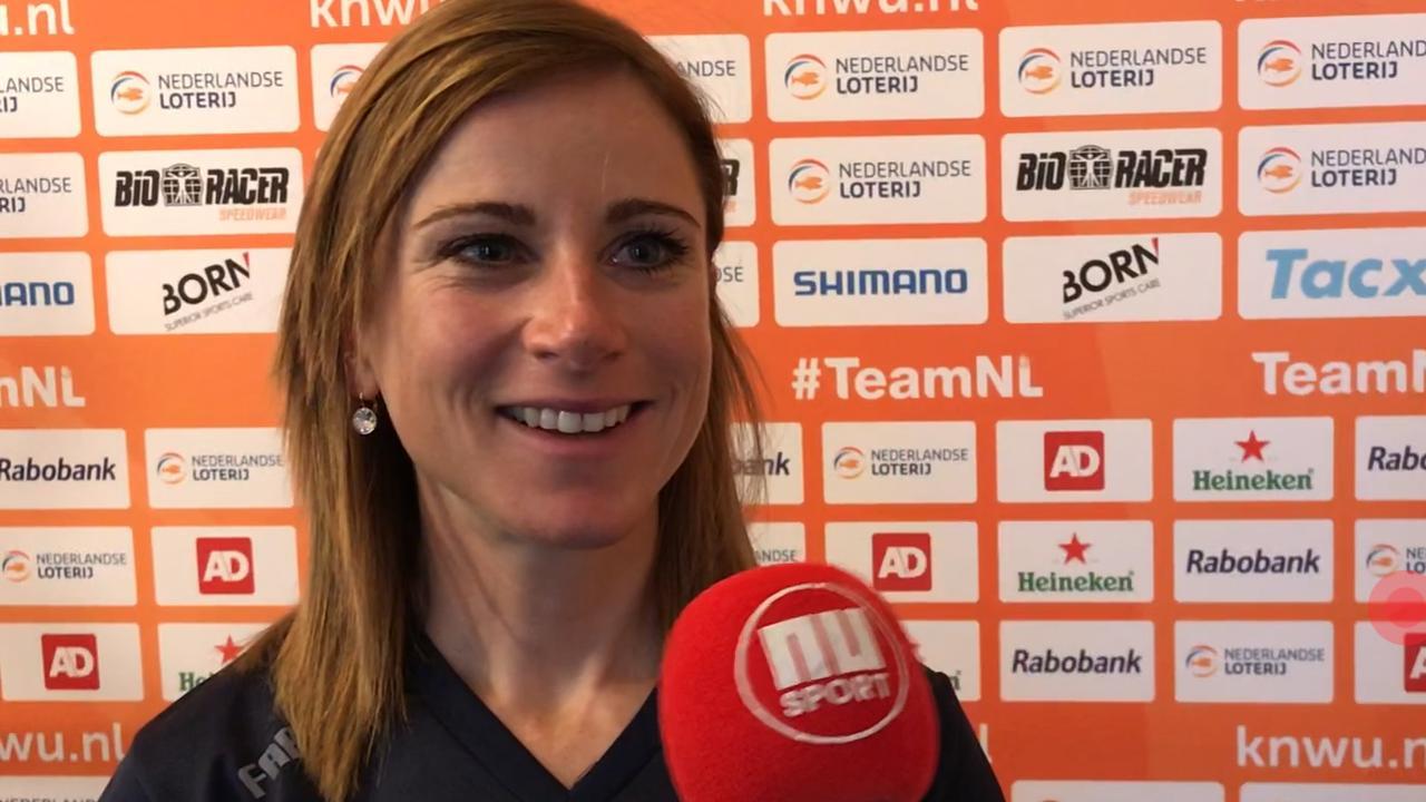 Topfavoriete Van Vleuten: 'Ik ben te kloppen bij WK tijdrijden'