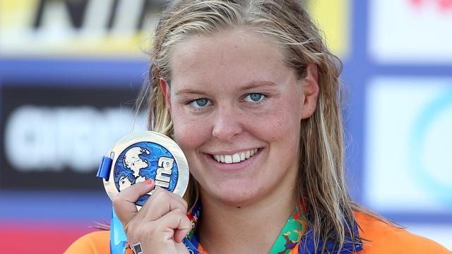 Van Rouwendaal pakt zilver op 10 kilometer open water bij WK