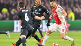 Samenvatting Ajax-Real Madrid (1-2)
