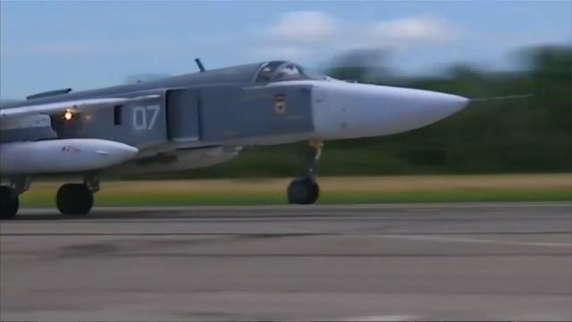 Russen oefenen met gevechtsvliegtuigen bij grens Litouwen