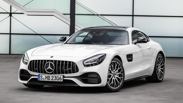 Facelift en technische upgrade voor Mercedes-AMG GT