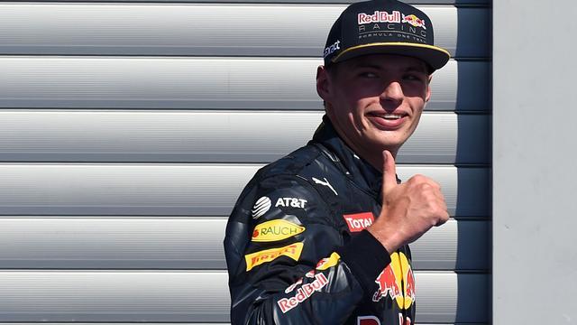 Verstappen vanaf plek twee op jacht naar tweede Grand Prix-zege