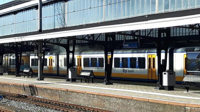 114 treinstoringen op station Haarlem vorig jaar
