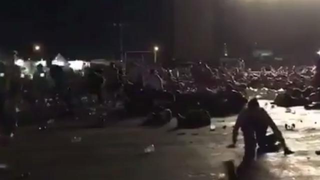Grote paniek na schietpartij met automatisch geweer bij concert Las Vegas