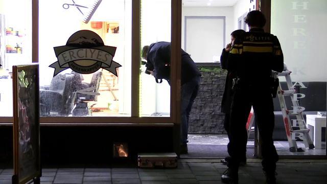 In brand gestoken man Enschede is eigenaar kapperszaak