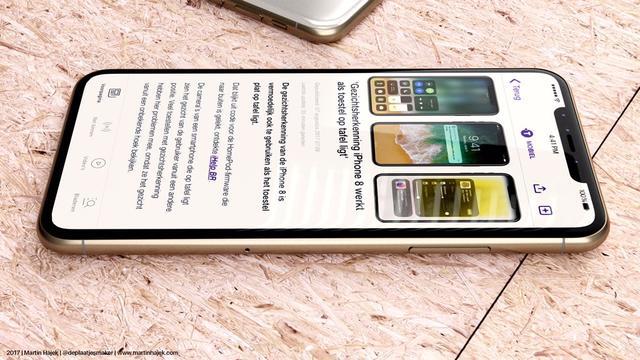 'Nieuwe iPhone met OLED-scherm heet iPhone X of iPhone Edition'
