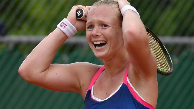Bertens na slopende partij naar vierde ronde op Roland Garros