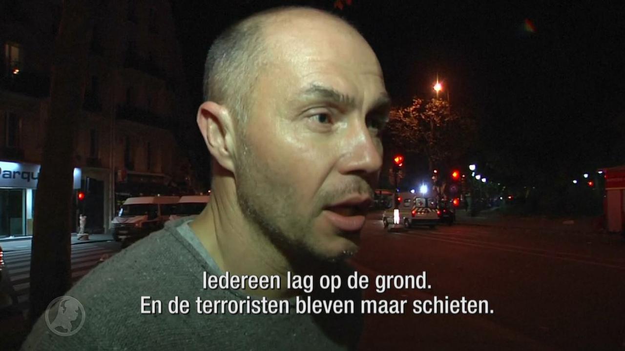 'Terroristen bleven maar schieten'