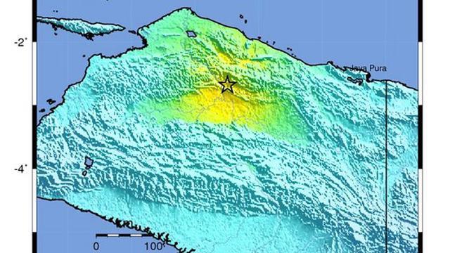 Zware aardbeving bij Indonesië