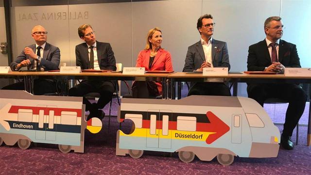 Vanaf 2025 rijdt er een directe trein tussen Eindhoven en Düsseldorf