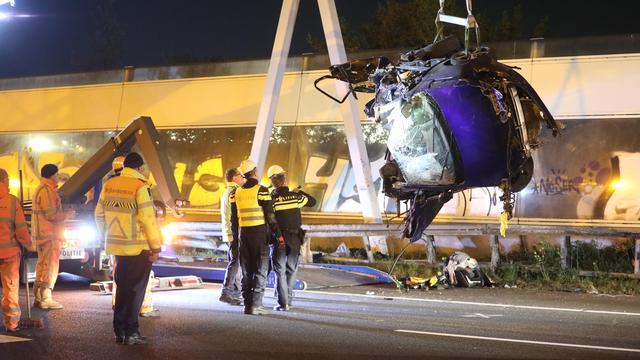 Slachtoffers dodelijk ongeluk op snelweg bij Den Haag waren familieleden