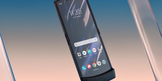 Motorola Razr met opvouwbaar scherm binnen paar maanden in Nederland