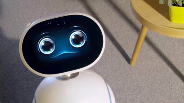 Asus toont rollende robotassistent Zenbo