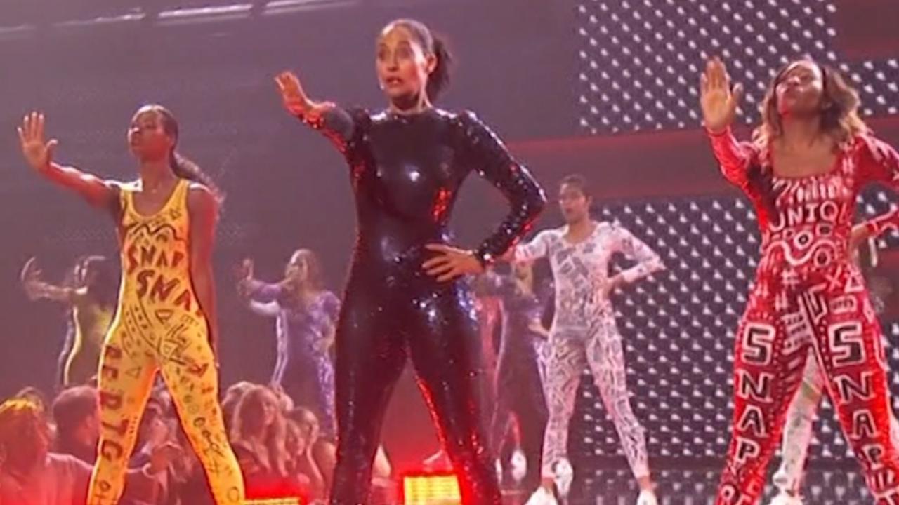 Dochter Diana Ross doet medley Beyoncé en Aretha Franklin