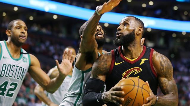 Cavaliers deelt in NBA-topper met vernieuwd team tik uit aan Celtics