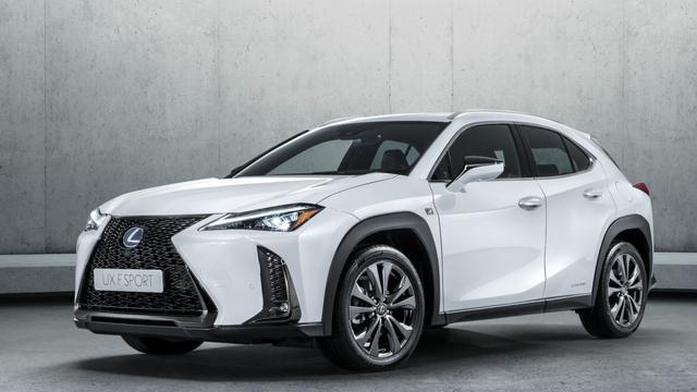 Details nieuwe Lexus UX bekend